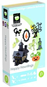 Provo Craft Cricut Happy Hauntings Cartridge