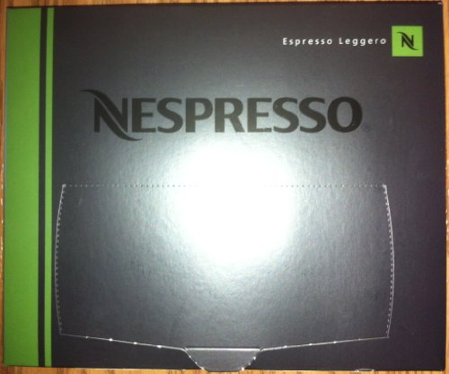 50 Nespresso Espresso Leggero Coffee Cartridges Pro New