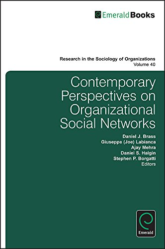 Contemporary Perspectives on Organizational Social Networks: 40 (Research in the Sociology of Organizations)