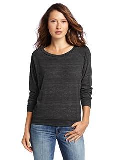Alternative Women's Slouchy Pullover, Black, Small
