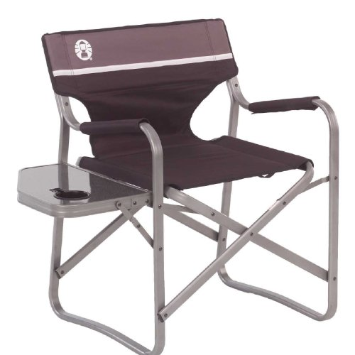 Coleman Portable Deck Chair with Side Table (Coleman Picnic Table compare prices)