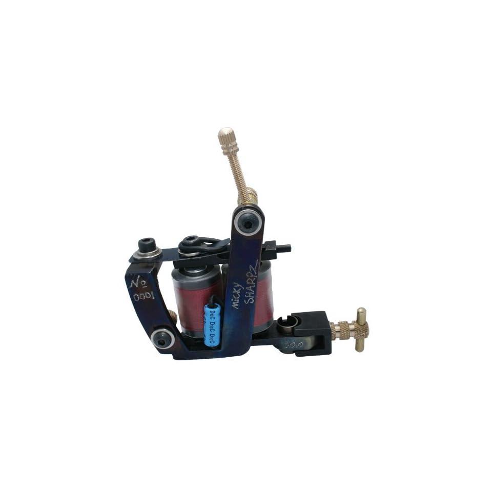 NEW 10 wrap coils Handmade Cast Iron Tattoo Machine Gun