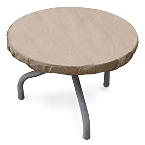 Amazon.com: KoverRoos III 31542 26-Inch Round Table Top Cover, 30 ...