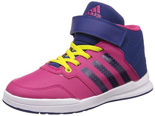 adidas Jan BS 2 mid C - Scarpe da ginnastica da Bambini, taglia 34, colore Rosa