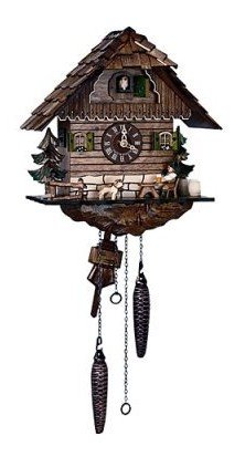 Schneider Quartz Black Forest 11 Inches Cuckoo Clock