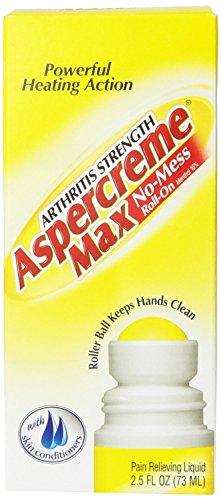 Aspercreme Max Arthritis Strength No-Mess Roll-On -- 2.5 fl oz