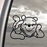 Winnie The Pooh Black Decal Car Truck Bumper Window Sticker