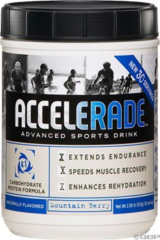 Accelerade - Sports Drink Powder, 60 Serving, Mountain Berry