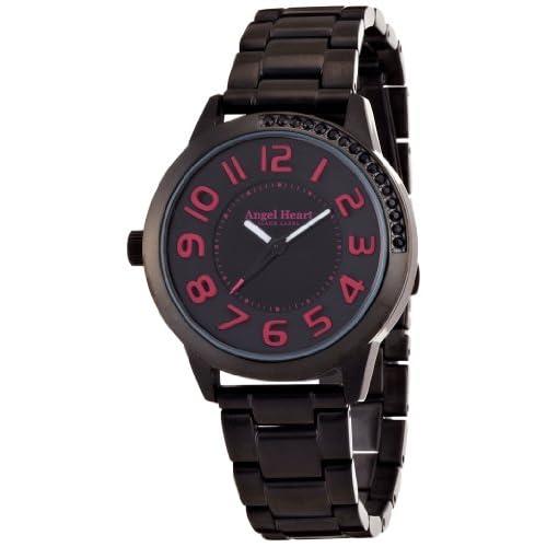 [エンジェルハート]Angel Heart 腕時計 ブラックレーベル ブラック/ピンク文字盤 ステンレス(BKPVD)ケース ステンレス(BKPVD)ベルト 10気圧防水 BK37BBP レディース