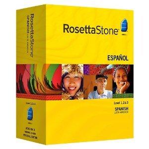 Rosetta Stone V3: Spanish (Latin America) Level 1-3 Set with Audio Companion [OLD VERSION]