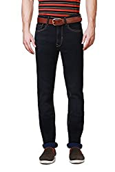 Peter England Comfort Fit Jeans _EDN61500114_40_Navy