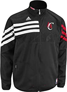 Adidas Los Angeles Clippers On-Court Warmup Jacket - Black by adidas