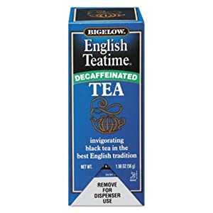R C Bigelow Decaffeinated English Teatime Tea (03-0293) Category: Tea