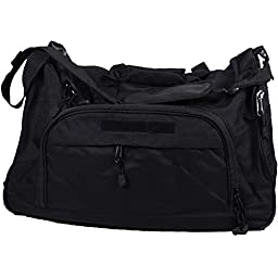 Gracie Jiu-Jitsu Large Duffle Bag - Black