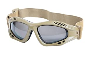 Rothco Coyote Brown Tactical High Impact Shatterproof Goggles by Rothco