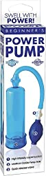 Pipedream Products, Inc. Beginner\'s Power Pump, Blue