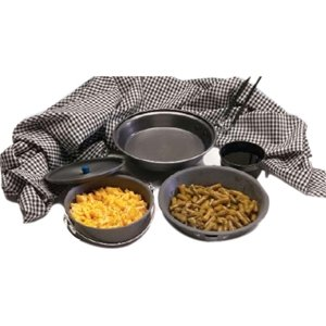 Texsport Black Ice Hard Anodized Mess Kit