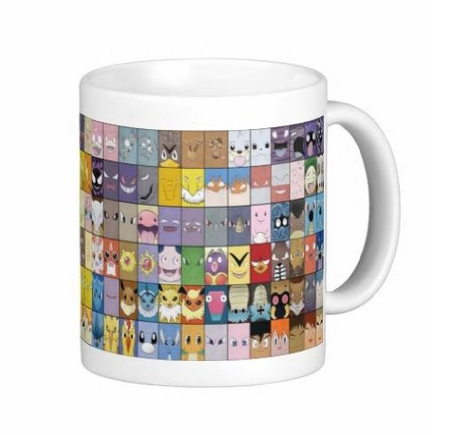 151 Pokemon Mug - Custom 11 Oz Coffee Cups - Dishwasher And Microwave Safe