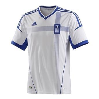 adidas  - Camiseta de fútbol sala para hombre, tamaño S, color blanco / satellite