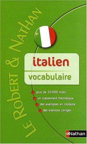 Italien vocabulaire