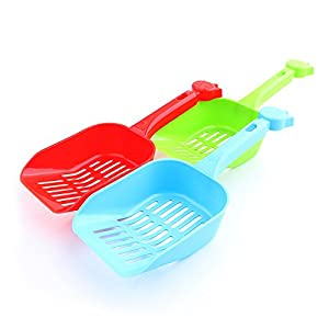 Plastic Litter Scoop, PYRUS Pet Clean Shovel Sand Waste Scoop Shovel Large Pet Cleaning Tool for Cats Dogs