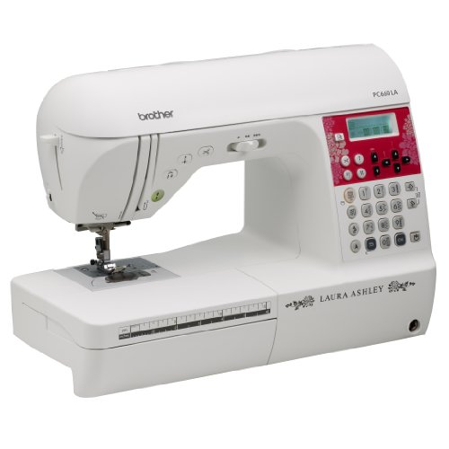 Laura Ashley Limited Edition Pc660La Computerized Sewing & Quilting Machine With 3 Built-In Sewing Fonts front-581737