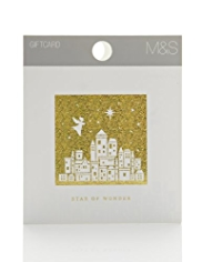 Star of Wonder Christmas Gift Card