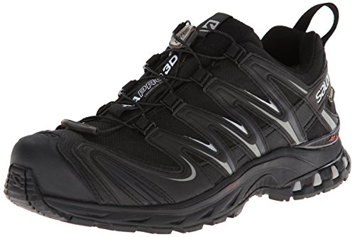Salomon XA PRO 3D GTX, Scarpe sportive, Uomo, Nero (Black/Black/Pewter),43 1/3