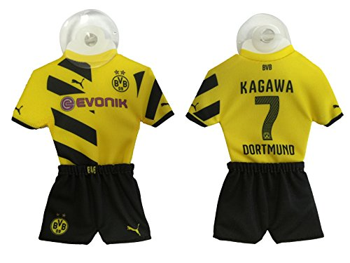 Exklusiv-Auto-Trikot-Borussia-Dortmund-Home-20142015-mit-Spieler-Shinji-Kagawa