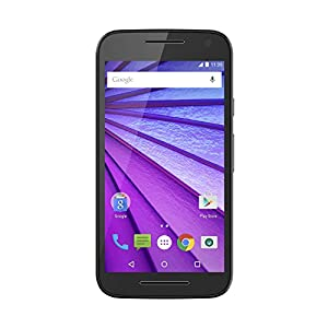 Motorola Moto G (3nd Generation) - Black - 8 GB - Global GSM  Unlocked Phone