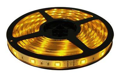 Brilliant Brand Lighting Seasonal Decoration Yellow Brilliant Brandled Strip Light Smd-5050 12-Volt 16.4' Spool Waterproof Ip67