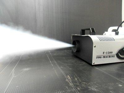 本格スモークマシーン 1500W  レーザー・照明の演出にかかせないフォグマシン [おもちゃ&ホビー]