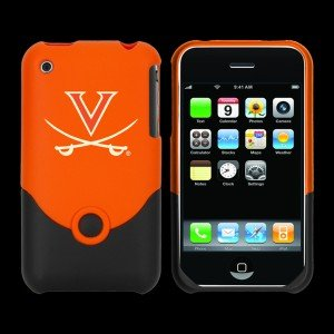 Football Fanatics Virginia Cavaliers Orange Team Logo Iphone Duo Shell Case
