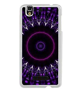 ifasho Designer Phone Back Case Cover YU Yureka :: YU Yureka AO5510 ( Black Leather Look Button Style )