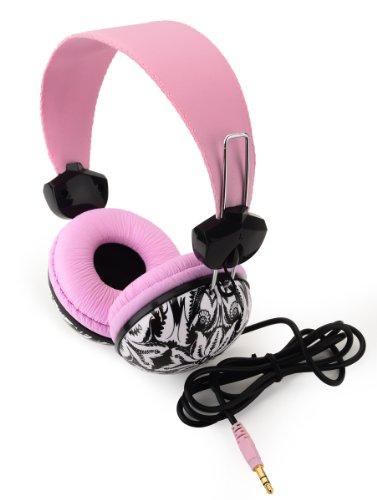Dormcandie Full Size Universal Headphone, Pink Color