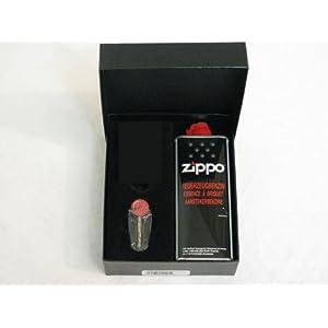 ZIPPO Geschenkbox mit Benzin & Feuerstein & Platz für ein ZIPPO Feuerzeug