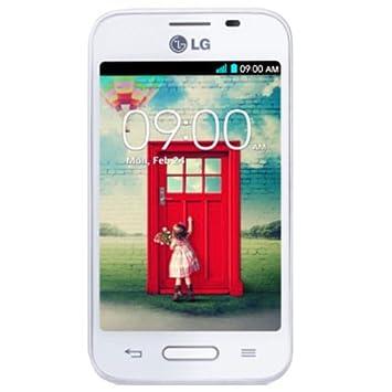 LG L40 Smartphone débloqué (3.5 pouces - 4 Go) Blanc (import Espagne)