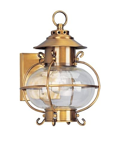 Crestwood Lucia 1-Light 11.25 Wall Sconce, Flemish Brass
