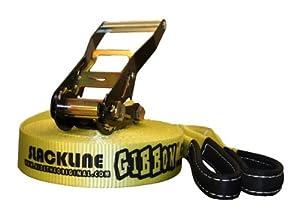 Gibbon Slacklines Classic Slackline, Yellow, 15 Meters