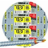 Southwire Bond Wire With Steel Armor Thhn 12 Ga, 20 Amp 600 V 90 Degc 50'