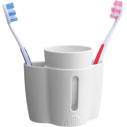 Croydex B-Smart Tooth Brush Holder and Cup