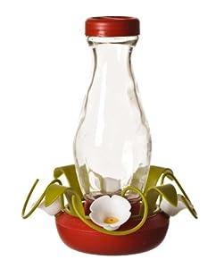 Perky-Pet 161-3 Funnel-Fill 16-Ounce Glass Hummingbird Feeder