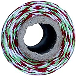 Red and Green Christmas Bakers Twine 110 Yard Spool