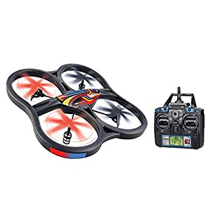 World Tech Toys Panther SPY Drone UFO Video Camera 2.4GHz RC Quadcopter