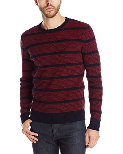 Lucky Brand Men's Holiday Striped Crew
