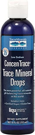 TRACE MINERALS RESEARCH Liquimins Concentrace Trace Mineral Drops 8 oz