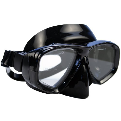 Promate Sea Viewer Mask (Clear, Black/Black)