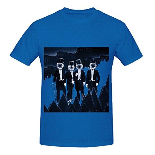 the-residents-eskimo-80s-men-crew-neck-printed-shirts-blue
