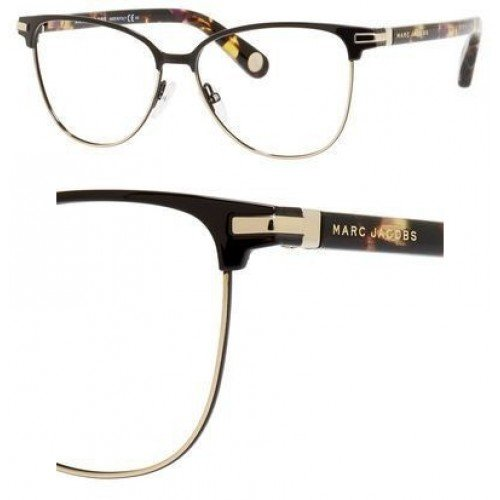 Marc JacobsMARC JACOBS Eyeglasses 510 01Fk Brown Gold Havana 54MM