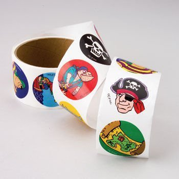 Pirate Stickers - 1